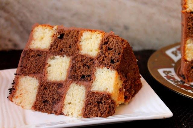 checkerboard cake recipe vanilla