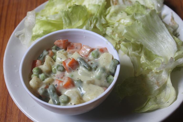 Russian Salad Recipe Vegetarian Russian Salad Recipe