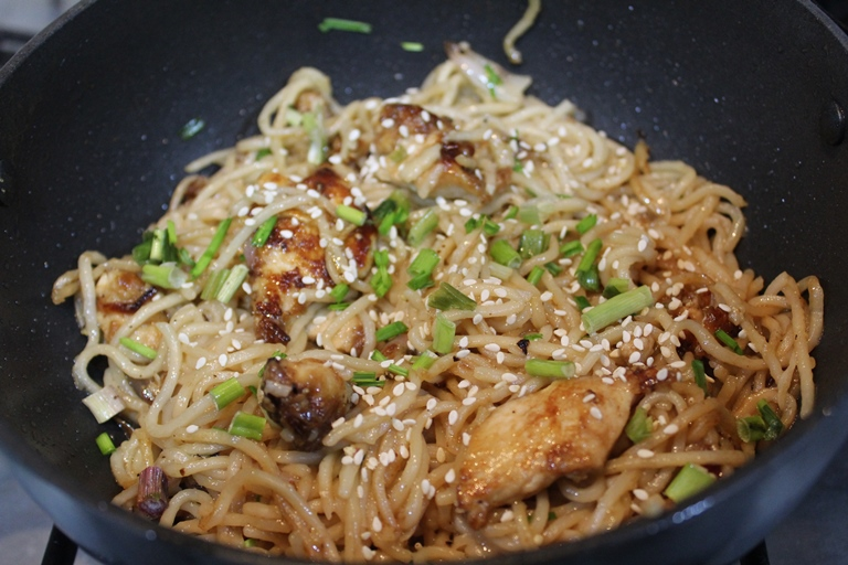 Sesame Chicken Noodles Recipe Sesame Noodles Recipe