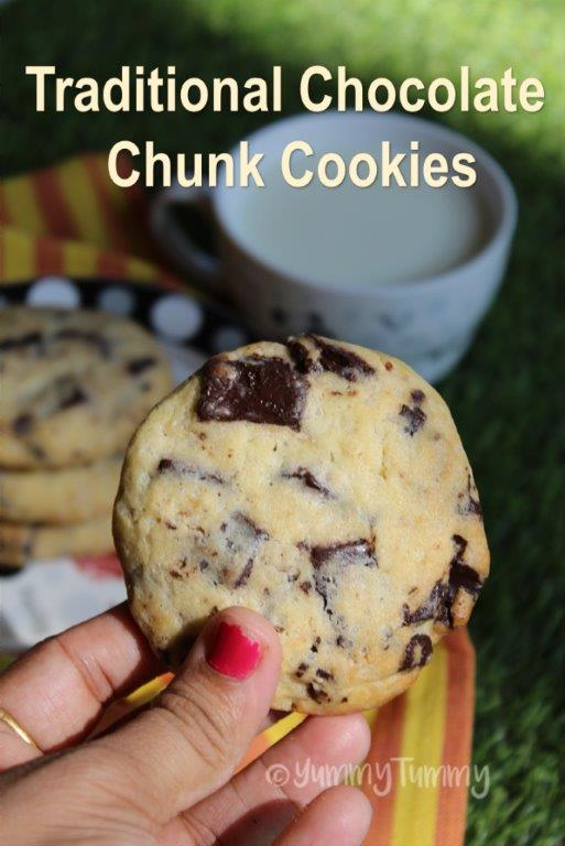 Traditional Chocolate Chunk Cookies