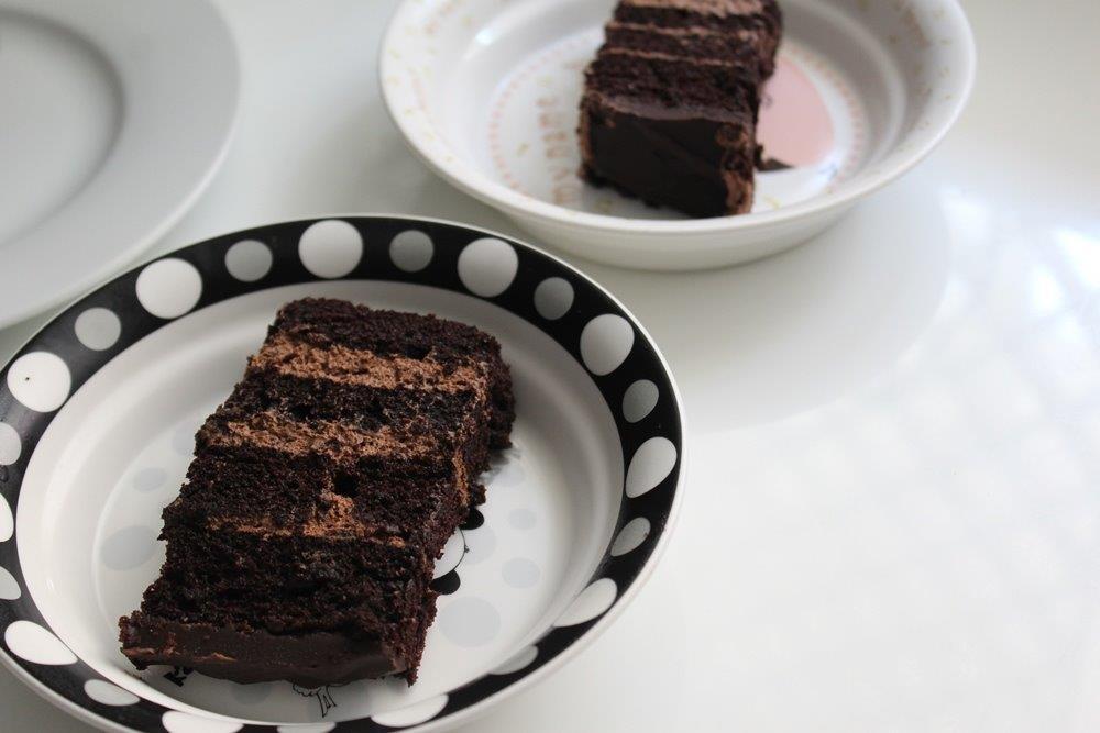 Chocolate Mousse Truffle Cake Recipe Yummy Tummy
