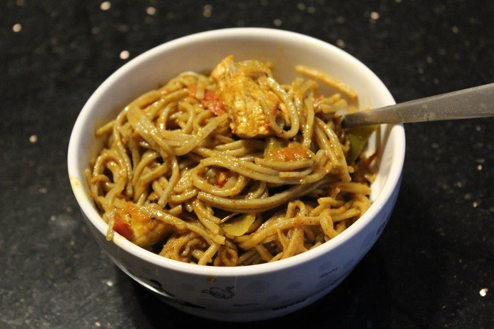 Soba Noodles Chicken Stir Fry