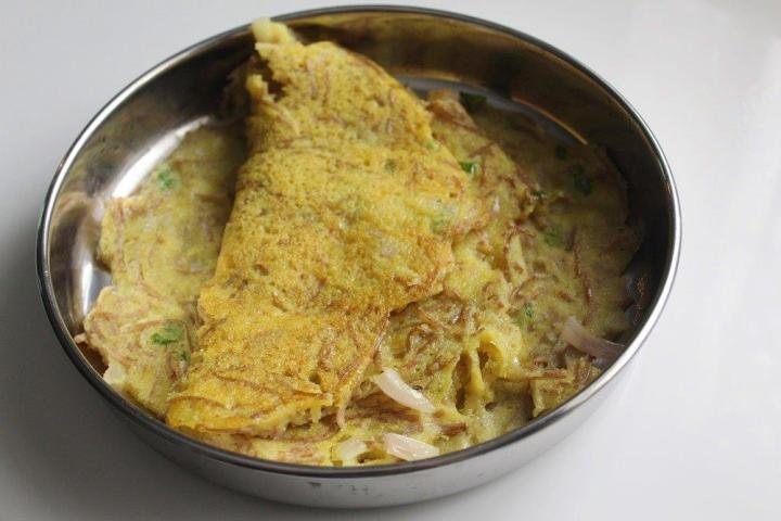 Noodles Pancake Recipe