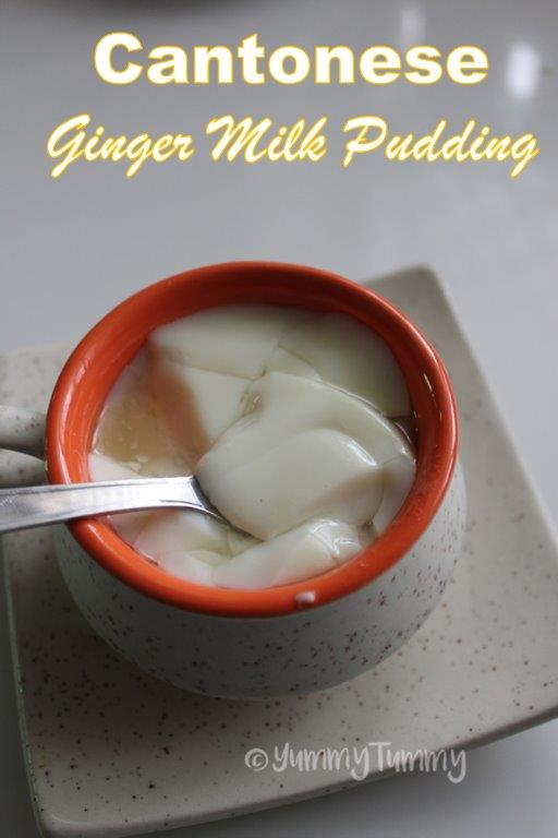 Cantonese Ginger Milk Pudding