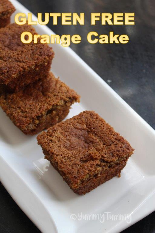 Gluten Free Orange Cake Recipe