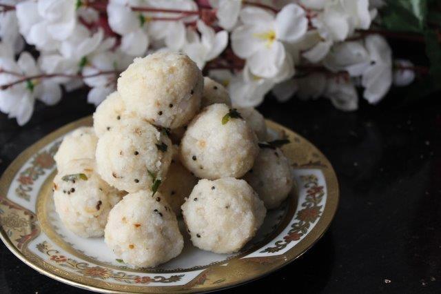 step 22 Rice Sago Kara Kolukattai