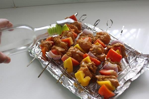 step 15 chicken kebab