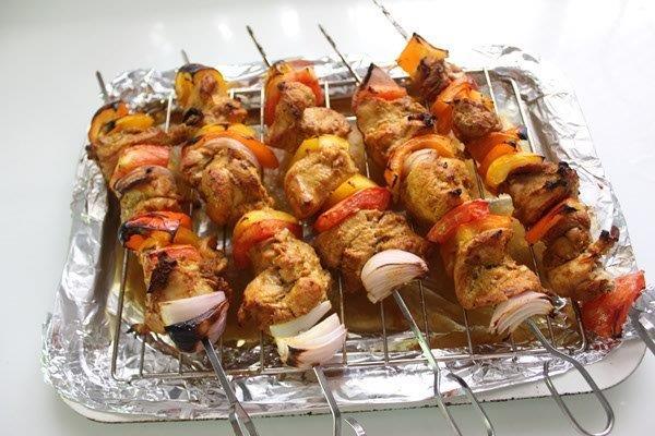 step 16 chicken kebab