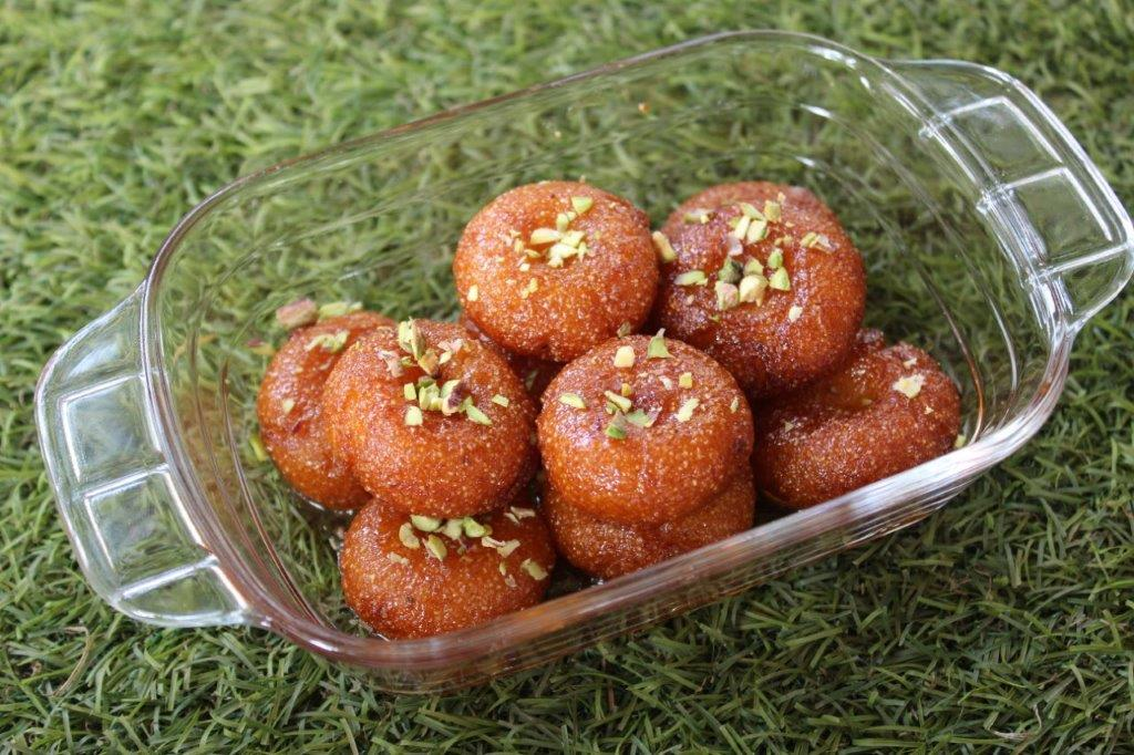Rava Badusha Recipe