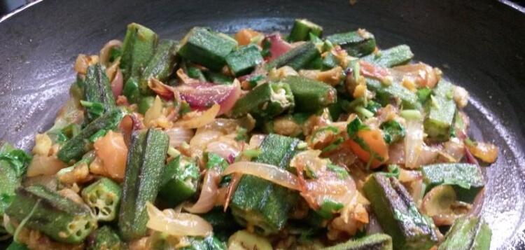 Bhindi Masala / Spicy Okra