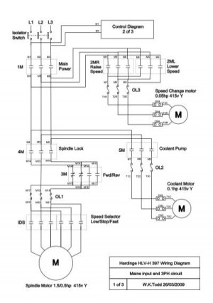 Hardinge HLVH 397 Wiring Diagrampdf  mycncuk
