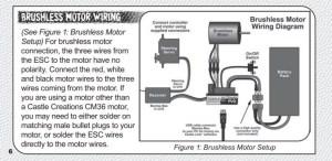 Brushless motor wiring (S