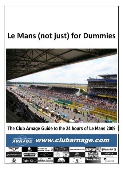 le mans not just for dummies club
