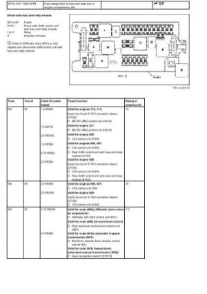 W211 Fuse Box Engine Comp Leftpdf