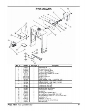 RED GIANT WIRING DIAGRAMS