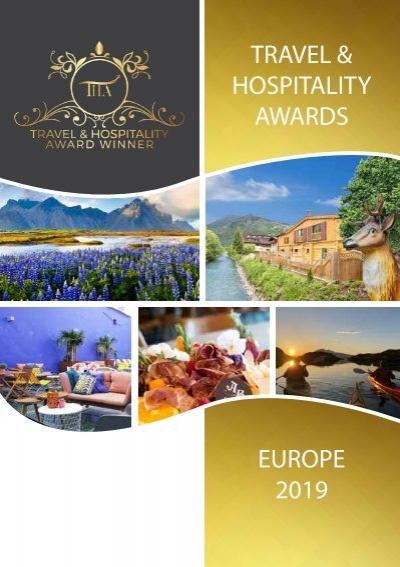 Travel Hospitality Awards European Winners 2019 Www Thawards Com
