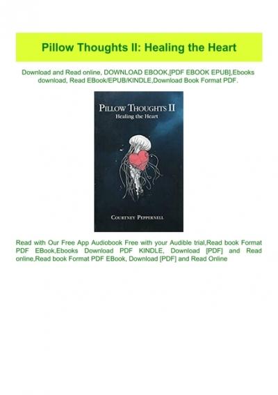read pdf pillow thoughts ii healing