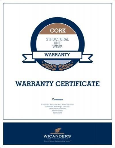 warranty certificate cork avalon