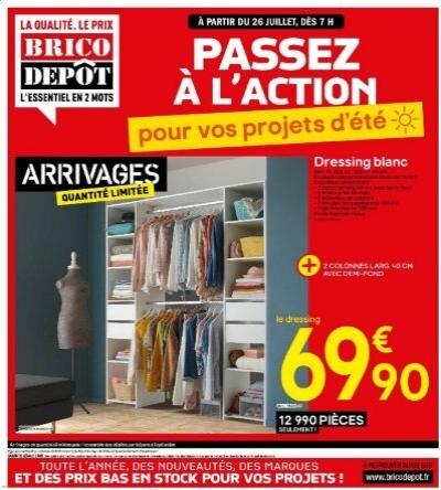 catalogue brico depot 26 juillet 8 aout