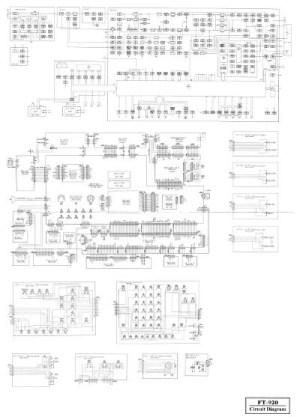 YAESU  FT920 Circuit diagram  IW2NMX