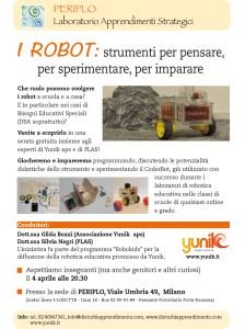Robot strumenti per pensare