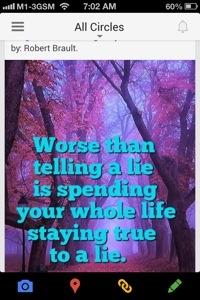 Worse than telling  a lie