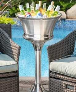 Stainless Steel Stand for Beverage Bin