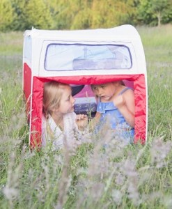 VW Camper Van Kids Tent - Red