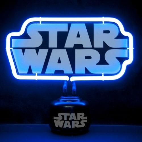 Star Wars Logo Neon Light