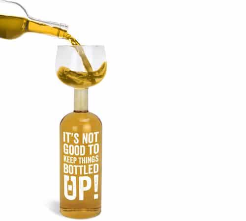 Wine Bottle Glass - Bottled Up