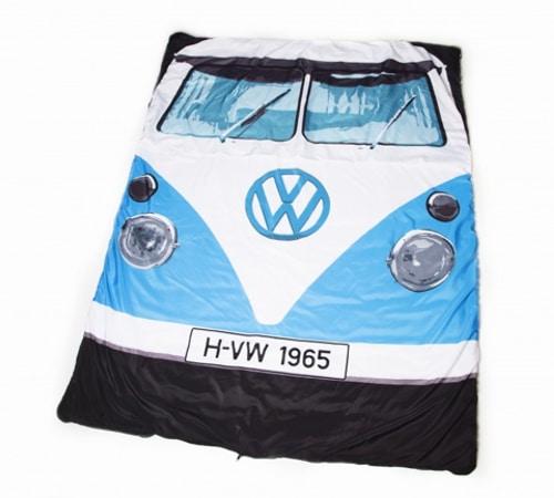 VW Camper Van Sleeping Bag - Blue