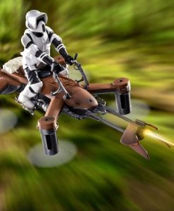 Star Wars Battle Drone 74-Z Speeder Bike - Collectors Deluxe Edition