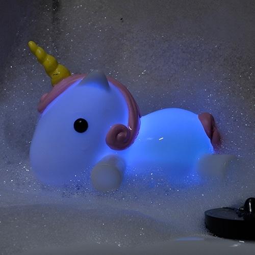 Light Up Unicorn Bath Plug