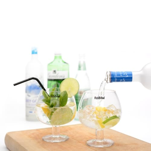 FishBowl Glasses - Set of 2