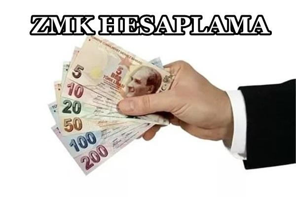 ZMK Hesaplama