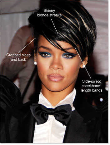 Fashionable Celebrity Hairstyles 2010