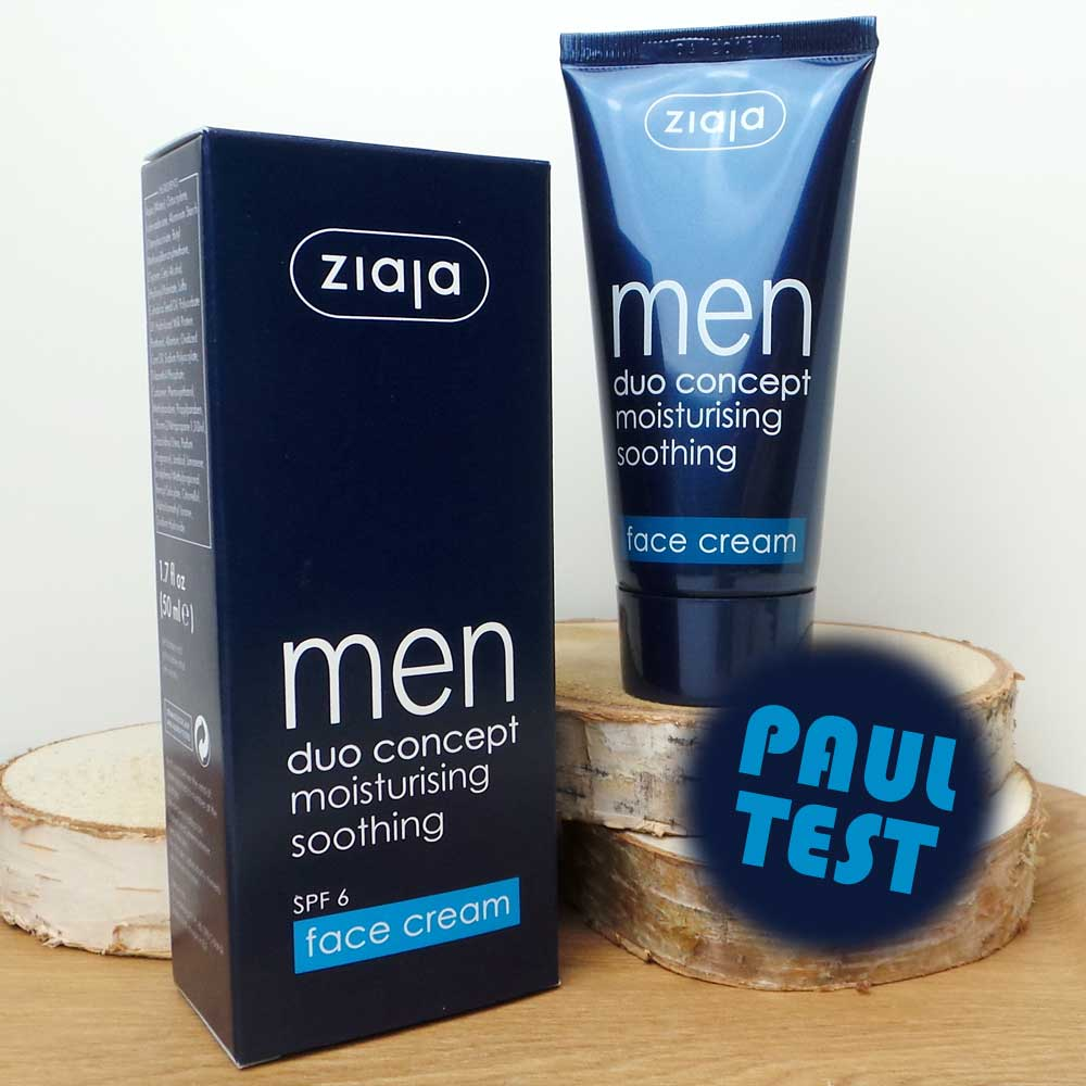 Paul test | Ziaja | MEN FACE CRÈME