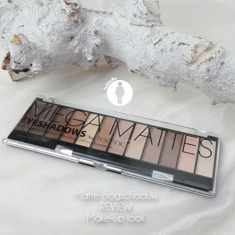 Eyeshadows by technic | Mega Mattes