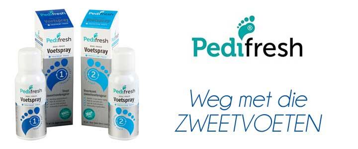 Pedifresh | weg met die zweetvoeten!