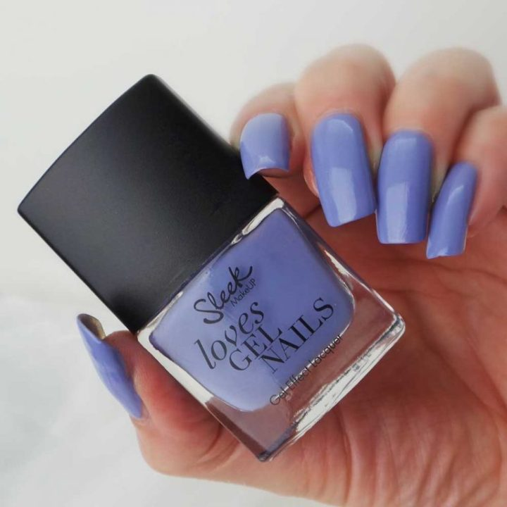 Sleek Smokin Violet 006 review swatch yustsome nailpolish nagellak nails