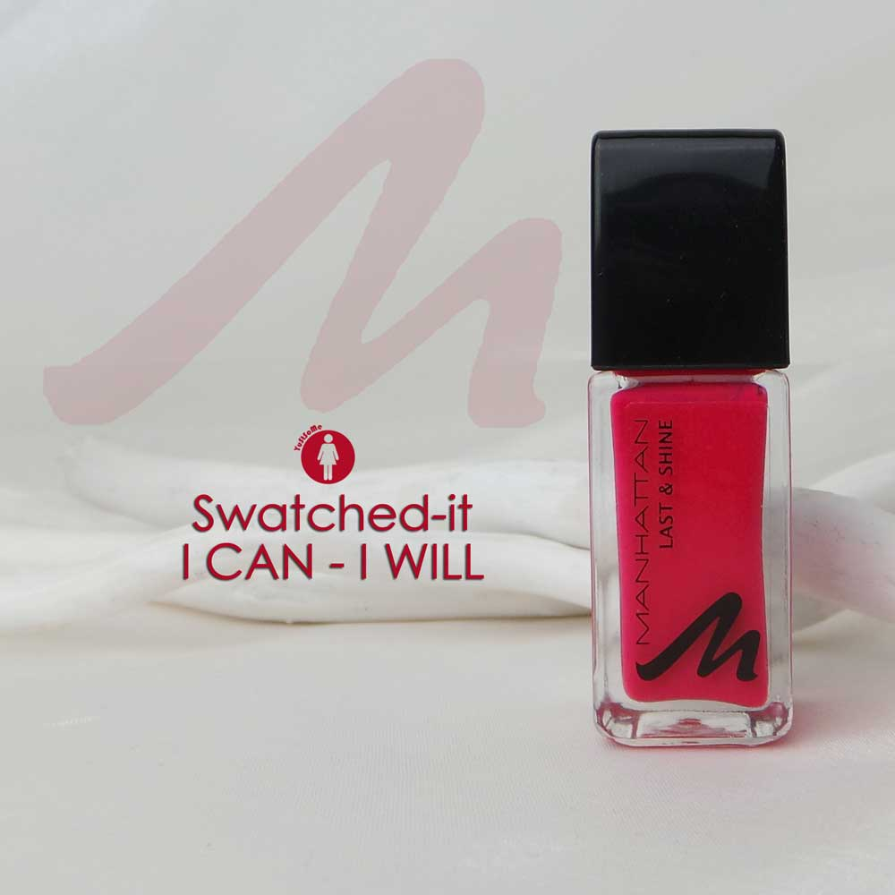 Swatched it | I Can I Will