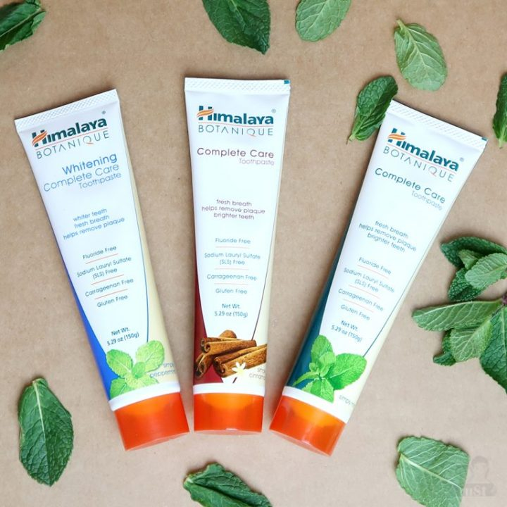 Himalaya complete care toothpaste tandpasta simply mint pepermint cinnamon yustsome review intro