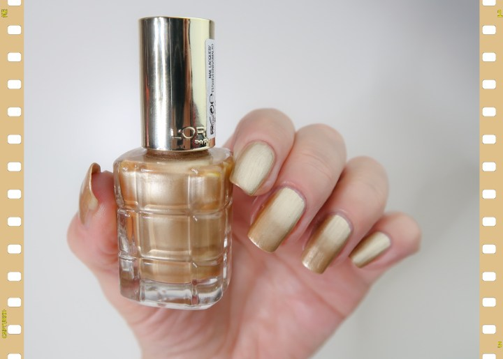 Swatch l'or 660 L'oreal Paris gold nailpolish nagellak yustsome blogger blog beauty