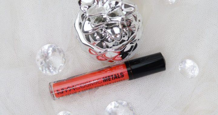 Nyx, cosmetics, solar, energie, cosmic, metals, lip, cream, swatch, blog, beauty, yustsome