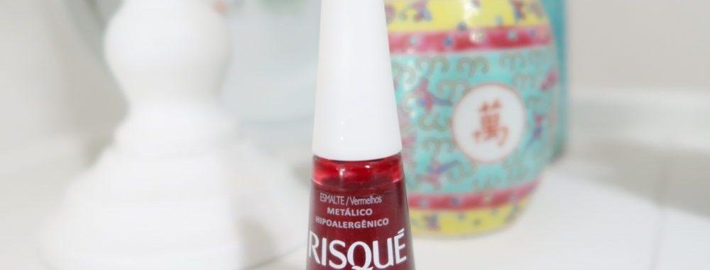 Risqué, rubi, nailpolish, nagellak, metallic, robijn, rood, beauty, blog, yustsome