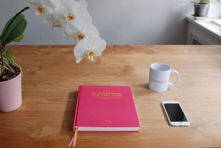 Zakenmam, agenda, zakenvrouw, advertorial