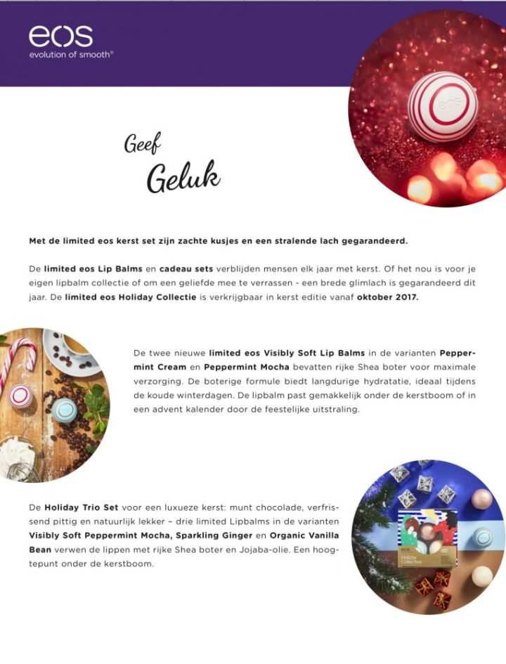 Eos, kerst, special, limited, edition, beauty, blog, yustsome