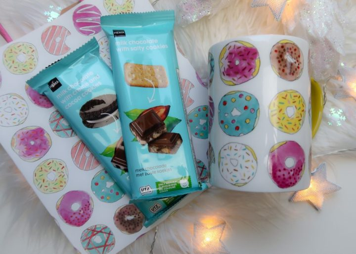 Hema, kerst, cadeau, sint, feest, donuts, chocolade, beauty, limited, edition, yustsome, sterretjes