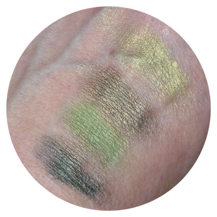 Nyx, cosmetics, eyeshadow, palette, green, zelf, samenstellen, mini, green, beauty, blog, review, yustsome