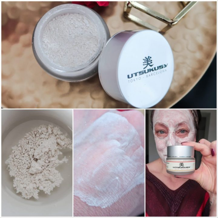 Utsukusy, schoonheid, rijst, ritueel, Japans, gezicht, verzorging, verfrissend, scrub, beauty, blog, blogger, yustsome, sample